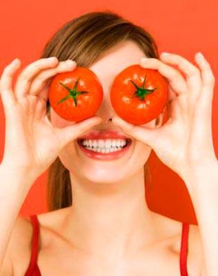 помидоры для волос
