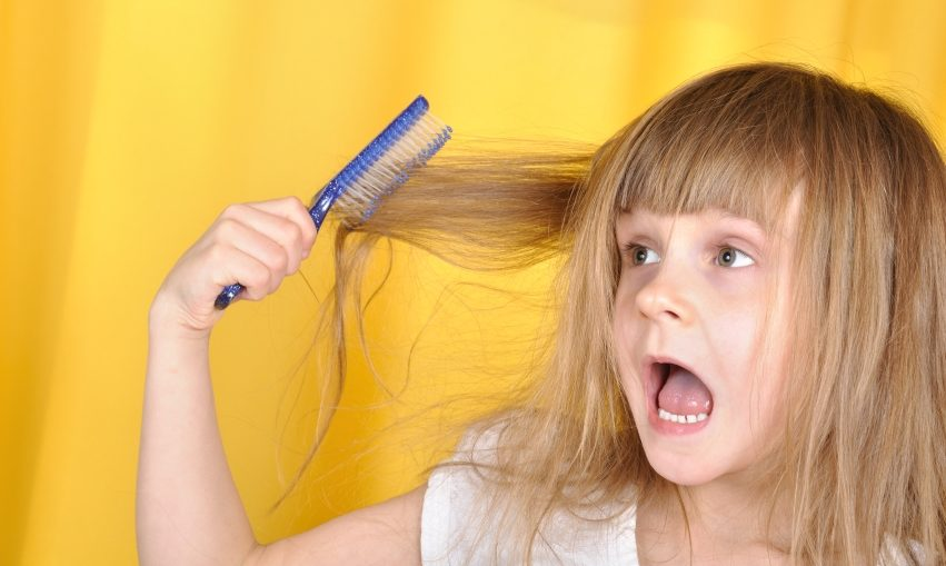 6-7 лет выпадение волос