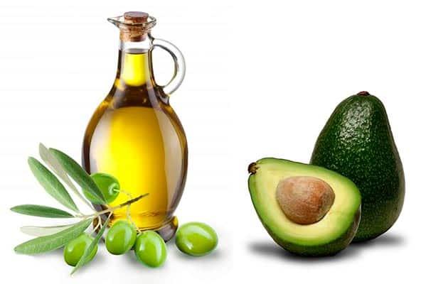 маска для волос авокадо оливковое масло