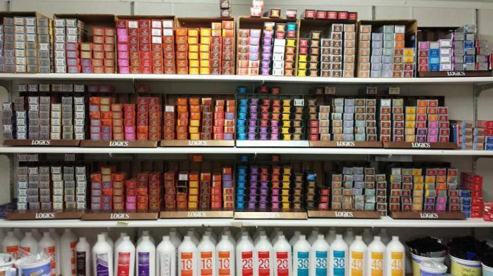 Профессиональная краска для седых волос