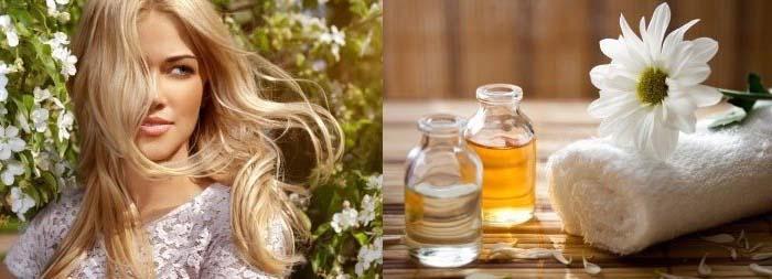 маска для осветленных волос восстанавливающая