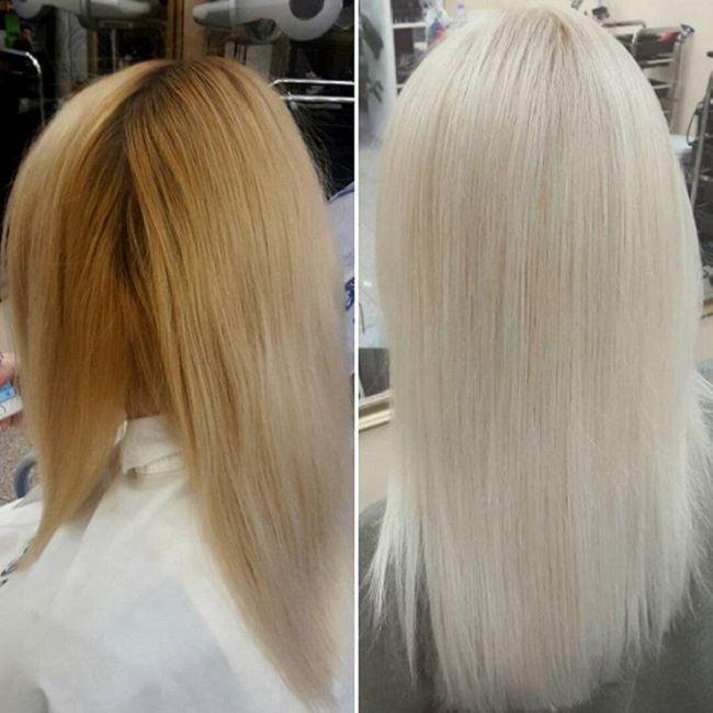 нейтрализатор желтизны волос