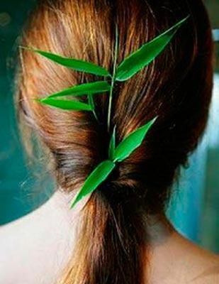 крепким чаем волосы