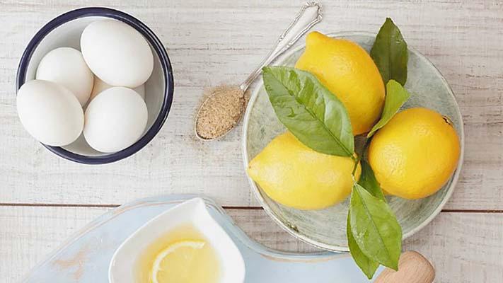 Яично-лимонный ополаскиватель
