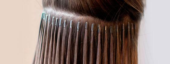 чем можно снять нарощенные волосы