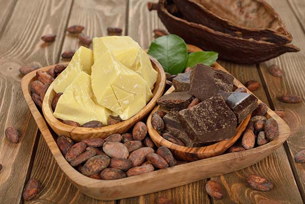 как использовать какао масло