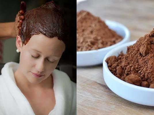 окрашивание волос какао порошком