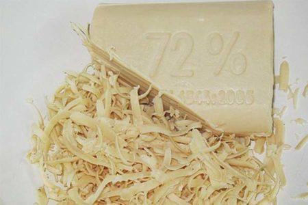осветление волос хозяйственным мылом
