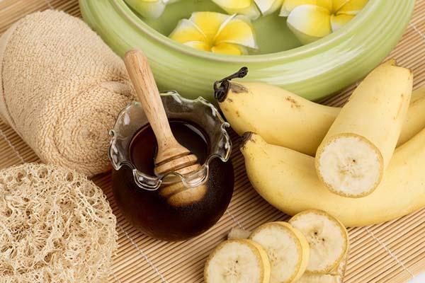 бананово-медовый ополаскиватель