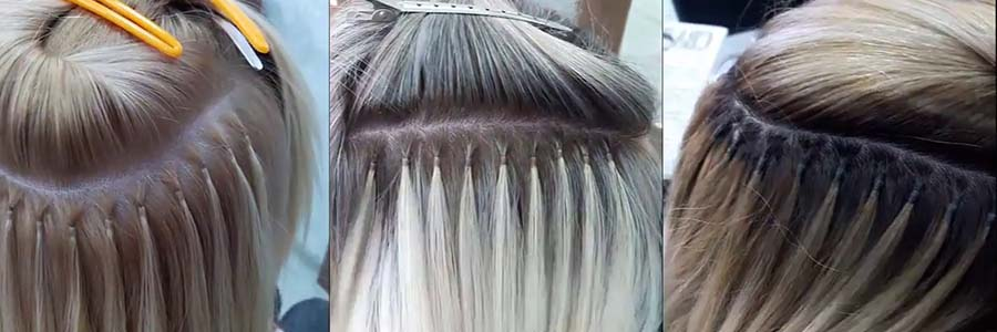 как самой снять нарощенные волосы
