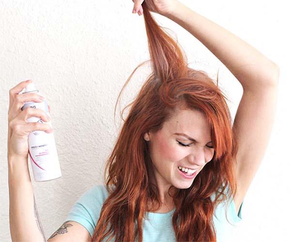 сухой шампунь для волос как сделать