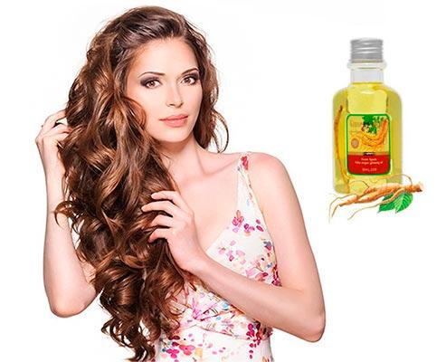 масло женьшеня для волос