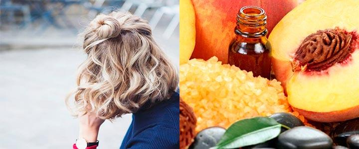 как использовать персиковое масло для волос
