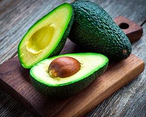 авокадо для сухих кончиков