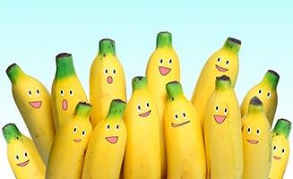 банан для сухих концов