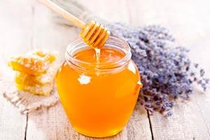 маска для кончиков волос с медом