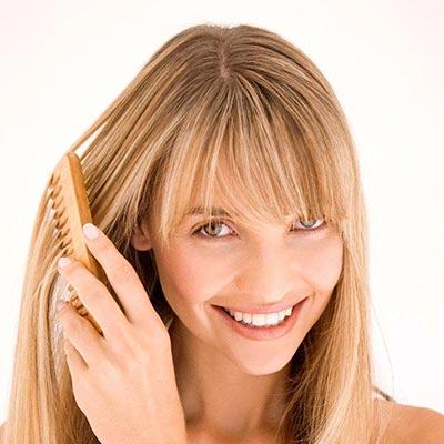 снять электризацию волос