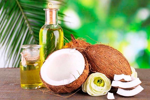 масло кокоса для объема