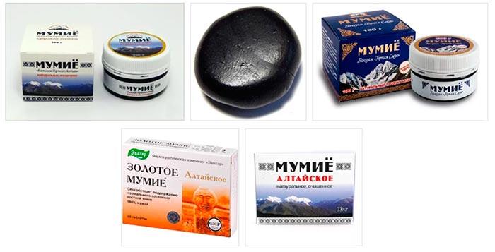 Мумие алтайское: применение для волос