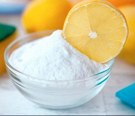 Осветление волос с помощью лимона и соды
