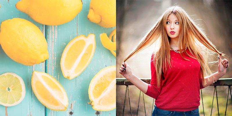 маска для роста волос с лимоном