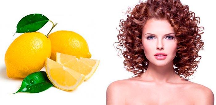 Маска от секущихся волос с лимоном