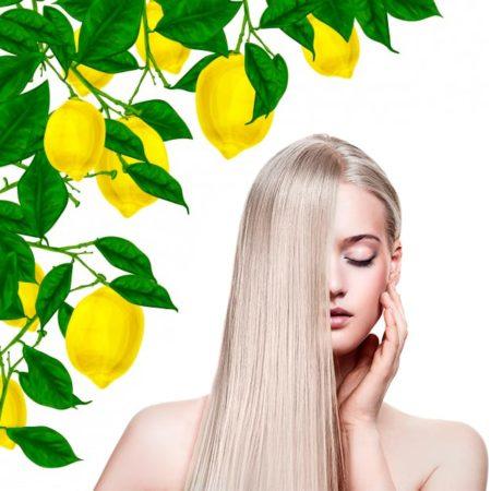 Укрепление волос с помощью лимона