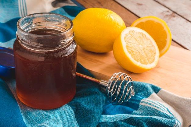 осветление волос медом и лимоном