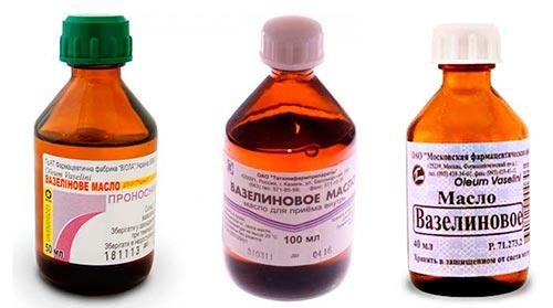 вазелиновое масло для волос маска