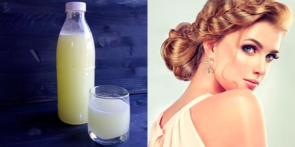молочная сыворотка для волос как применять