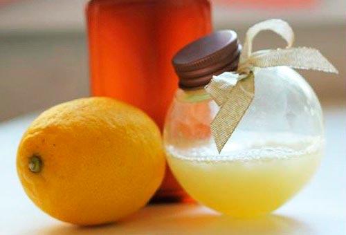 Лимонный ополаскиватель с молочной сывороткой