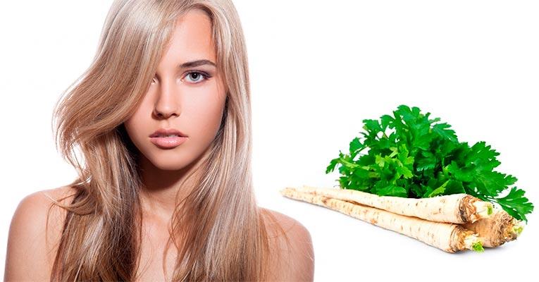 корень петрушки для волос