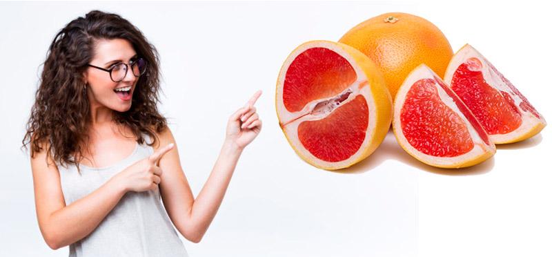 сок грейпфрута для волос