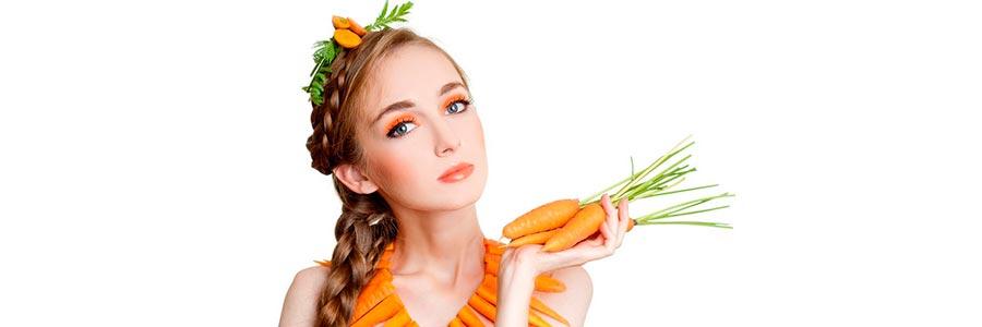 морковь для волос