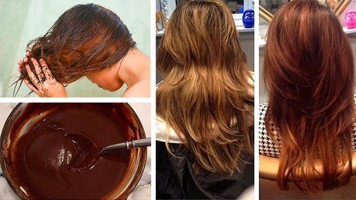 кора дуба для волос окрашивание
